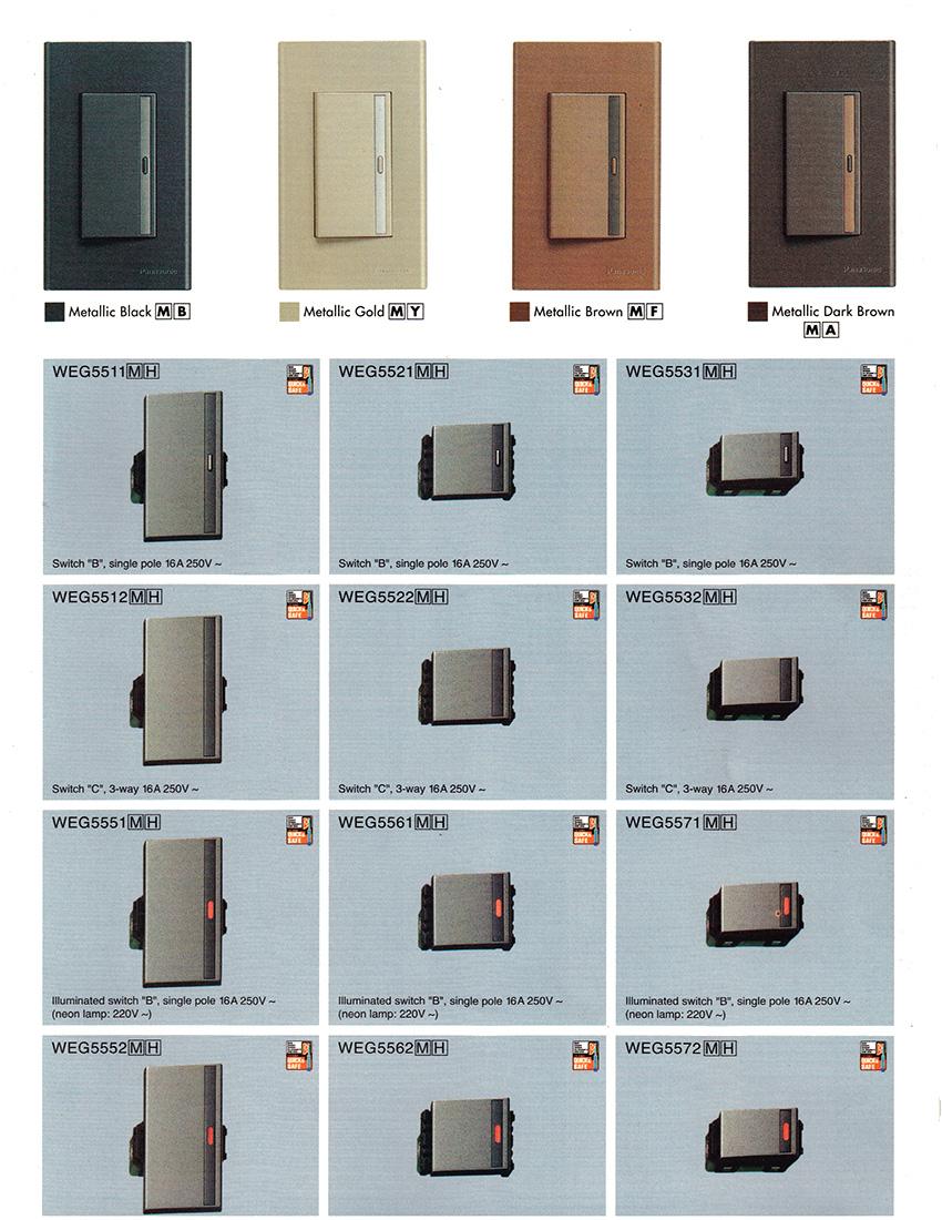 Panasonic Switches