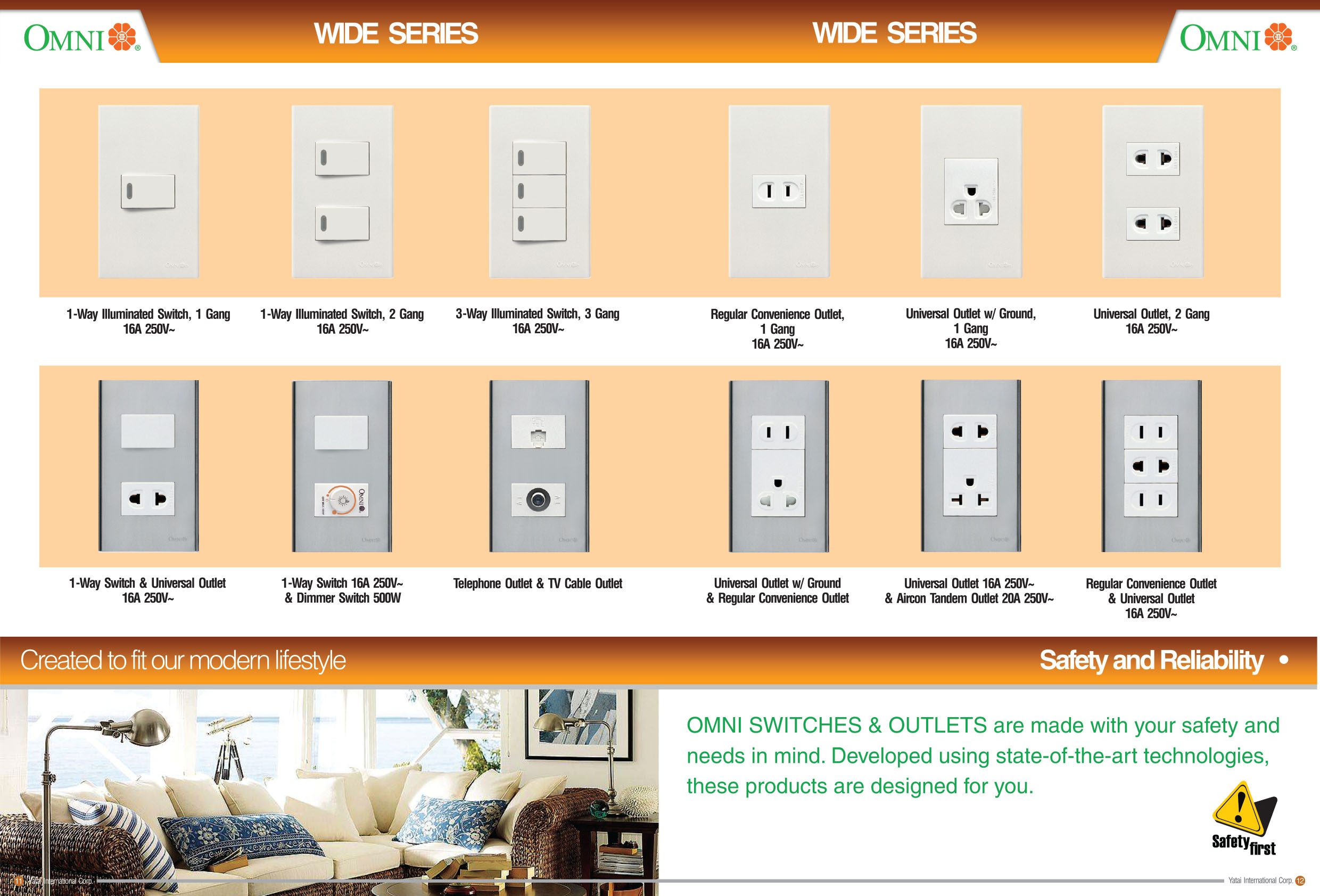 Omni Electrical Richworld Industrial Corp 3 Way Switch 2 Outlets Wiring Catalogueupdate 7