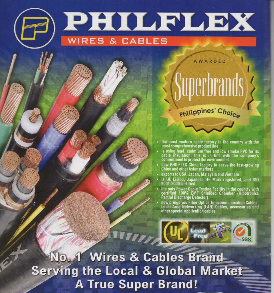 Philflex Richworld Electrical Industrial Corp Copper Wire Xhhw Product Line